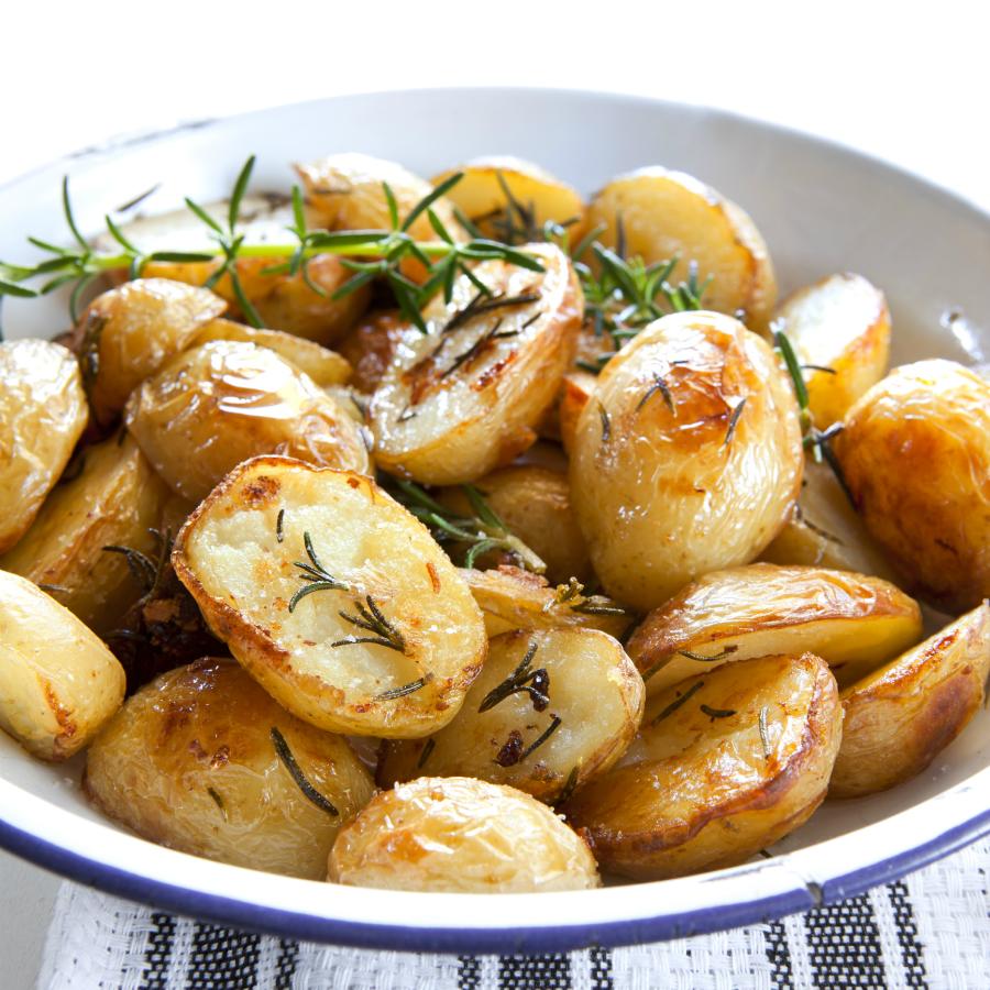gebakken aardappelen met tijm
